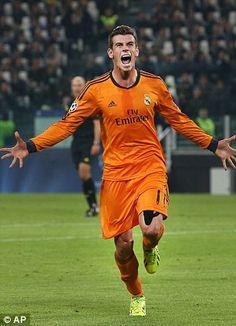 Gareth Bale, the heir of Cristiano Ronaldo.