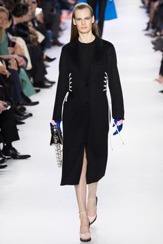 Christian Dior Fall 2014 Ready-to-Wear Fashion Show - Carolina Sjostrand (PREMIUM)