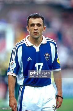 21 June 2000 - EURO Championships - Spain v Yugoslavia - Ljubinko Drulovic of Yugoslavia. Get premium, high resolution news photos at Getty Images Euro Championship, Football Photos, Image Collection, Spain, 21st, 21 June, Sports, Pictures, Google