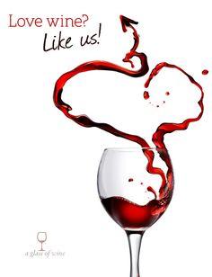 Valentine wine sign.....