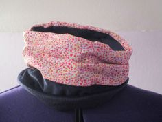 snood tour de cou simple pour ados femme en tissu et polaire : Echarpe, foulard…