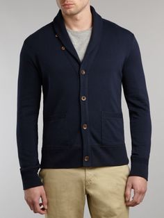 Polo Ralph Lauren shawl collar Sweater | Polo Ralph Lauren Classic Shawl Collar Cardigan in Blue for Men (Navy ...