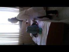 3.mover a un usuario al lado de la cama(usuario semidependiente)(1 tecnico)