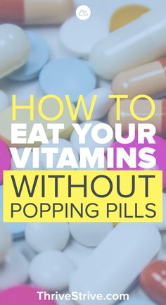 Getting the right vitamins for weight loss is important, but it's not fun taking 20 pills a day. Here are foods that you can eat that will help with vitamins for women, energy, anxiety, and deficiency.