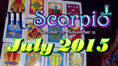 Scorpio July 2015 Intuitive Astrology & Tarot Reading by Mystic GLoLady