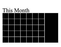Liitutaulutarra kalenteri