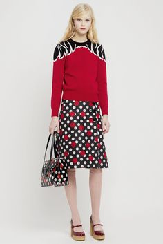 top // LOOK | 2015 PRE-FALL COLLECTION | RED VALENTINO | COLLECTION | WWD JAPAN.COM