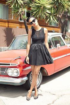 black-lulus-dress-brown-forever-21-pumps_400.jpg (400×600)