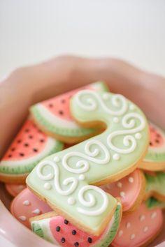 Cookies from a Tutti Frutti Birthday Party via Kara's Party Ideas | KarasPartyIdeas.com (8)
