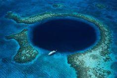 gran agujero azul . belice mar caribe