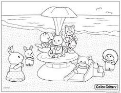 59 Best Sylvanian family colouring pictures images in 2016