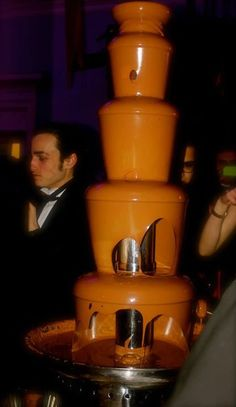 Lion in Winter Ball- Chocolate Fountain