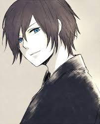 Anime Boy With Black Hair And Blue Eyes Google Search Male Boy