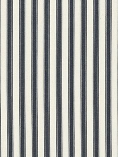 ' to the French Country look because French-inspired fabrics are popping up left and right. Toile de Matelas, more commonly known as French ticking stripe, is one pattern in particular. Ticking Fabric, Ticking Stripe, Ralph Lauren Fabric, My Dream Came True, Jacquard Fabric, Striped Fabrics, Ticks, French, Pattern