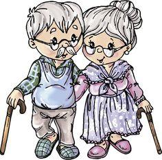 Stempel - Yvonne Creations - Opa en Oma 2