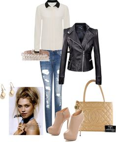 """""""the everyday outfit :)"""" by rissygirl on Polyvore"""