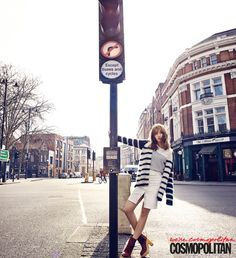Suzy Roams London's Streets For Cosmopolitan Korea's April 2015 Issue   Couch Kimchi