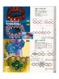 70 esquemas anillos - claincar maquillaje y muñecos - Picasa Web Albums
