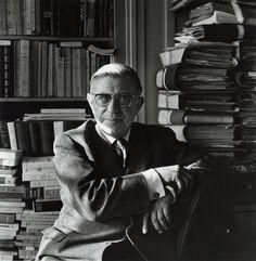 Jean Paul Sarte. French Existentialist Philosopher. Playwright. Novelist. Political Activist.