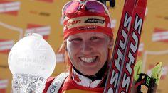 Kati Wilhelm | Bildquelle: dpa Biathlon, History