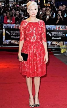 """Michelle Williams in Erdem at the premiere of """"Blue Valentine"""" in London, 2010"""