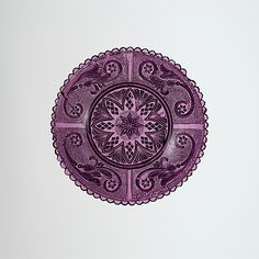 Cup Plate Date: 1825–60 Geography: United States Culture: American Medium: Lacy pressed glass Dimensions: Dimensions unavailable Classificat...