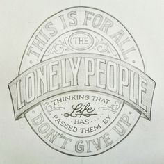 An old but good one from America. #lettering #handlettering #sketch