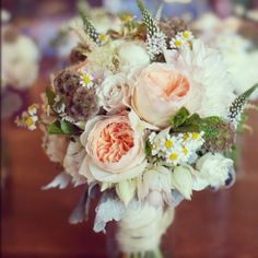 Yosemite wedding beautiful wild flower peonies #peony #wedding bouquet