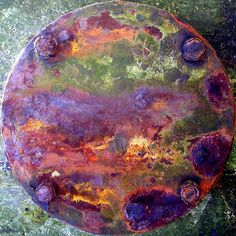 amazing rust squaredcircle by FredR, via Flickr