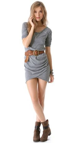 Free People sweatshirt dress.