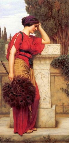 La Pensierosa John William Godward - 1913