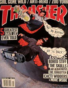 Thrasher mag, Novembre 2003