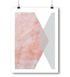 Hex Marble PrintThe Block Shop - Channel 9