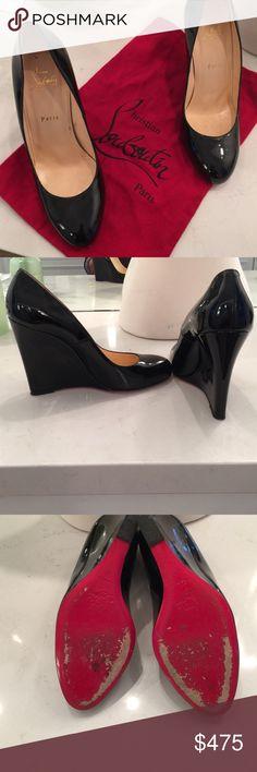 Beautiful Christian Louboutin patten shoes Worn once perfect condition Christian Louboutin Shoes Platforms