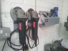 Angle grinder tidy: