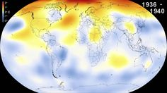 """The year 2014 now ranks as the warmest on record since 1880, according to an analysis by NASA scientists. This video shows a time series of five-year global ..."