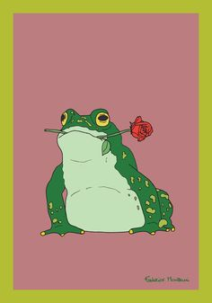 Toad and Rose by Federico Monzani