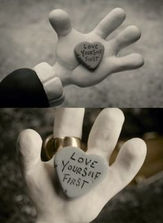 Love yourself first Mary and Max