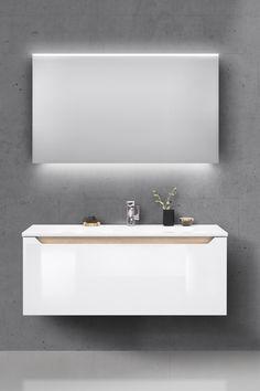 Bathroom Lighting, Bathrooms, Sweet Home, Mirror, Interior, Fitness, Inspiration, Furniture, Ideas