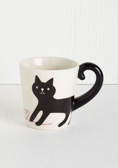 Yarn-ing for Your Love Mug | Mod Retro Vintage Kitchen | ModCloth.com