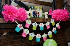 """Photo 1 of 33: Cupcakes! / Birthday """"Addison's 1st Cupcake Birthday Party!"""" 
