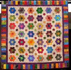 My batik hexagon quilt won third place in the Large Pieced Duet category at Quiltfest Jacksonville 2011. The quilting by Jackie of Canton Village Quiltworks made all the difference. I am working on…