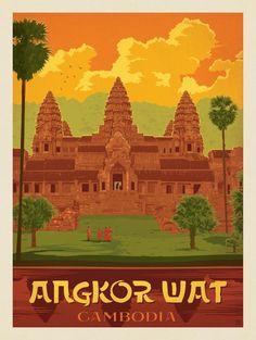 Angkor. Cambodge