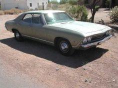 My first Car.. 1969 Chevelle Malibu 4 door..
