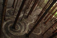 The Land Art of Sylvain Meyer art-sculpture-installations Art Environnemental, Art Et Nature, Street Art, Art Sculpture, Outdoor Sculpture, Metal Sculptures, Abstract Sculpture, Bronze Sculpture, Inspiration Art