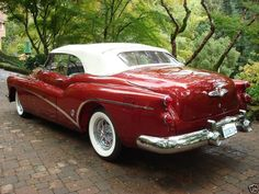1953 Buick Roadmaster Skylark Sports Convertible