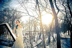 winter bride. In boulder that'd be perfect.