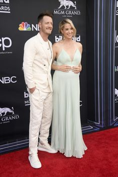 The Billboard Music Awards is just beginning, and celebs have already worn some of this spring's biggest statement looks on the carpet. Here, what what everyone, from BTS to the Jonas Brothers, are wearing at the show. Tyler Hubbard, Mgm Grand Las Vegas, Ingrid Michaelson, Justin Hartley, Tori Kelly, Julia Michaels, Florida Georgia Line, Jennifer Hudson, Cameron Dallas