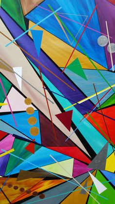 """""""Weightlessness """" 24x30inch. ACRYLIC, PAINTING Acrylic on canvas. Published via ArtLoupe. #ABSTRACT #CONTEMPORARY #GEOMETRIC #MODERN"""