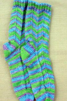 Jaywalkers - free sock pattern